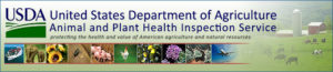 USDA APHIS banner