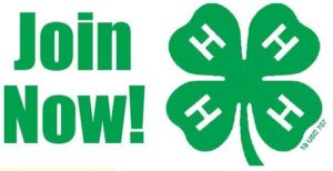 Join 4-H Now!