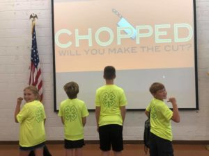 NC Cooperative Extension, 4-H Chopped Challenge