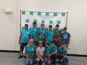 Pender County's Holly Shelter Shooting Sports 4-H Club at the Eastern Regional Tournament