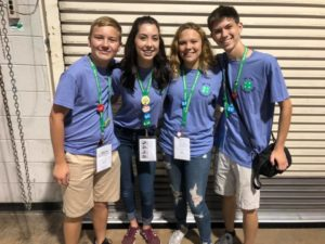 Pender County 4-H'ers at 2019 NC 4-H Congress