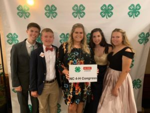 Pender County 4-H Delegation at the 2019 NC 4-H Congress