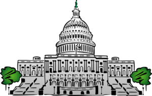 US Capitol Building Animated